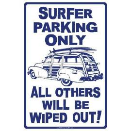 PLAQUE SURFER PARKING
