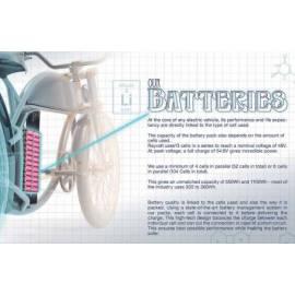 Batterie 48V10.5Ah (550Wh) rayvolt Cruzer