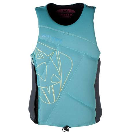 Mystic Star femme Wakeboard Vest Zip Woman Mint taille S