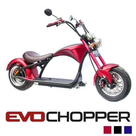 EvoChopper moto scooter électrique homologuée route
