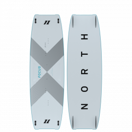 Focus Carbon planche de kitesurf Twintip NORTH KITEBOARDING 2021 : PERFORMANCE FREESTYLE / WAKESTYLE