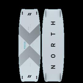 Focus Carbon planche de kitesurf Twintip NORTH KITEBOARDING 2021 : PERFORMANCE FREESTYLE / WAKESTYLE