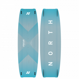 Focus hybrid planche de kitesurf Twintip NORTH KITEBOARDING 2021 : FREESTYLE / WAKESTYLE