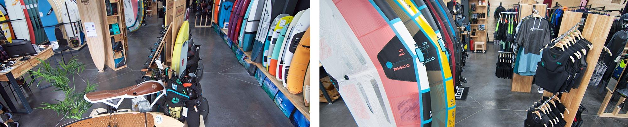 conseil guide magasin Glissevolution Le meilleur du Kite Foil Wing Wake promotio occasion Duotone Slingshot Fanatic North Kiteboarding Airush - Kiteshop surfshop - la baule / pornichet