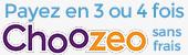 Paiement en 3 ou 4 fois sans frais avec CHOOZEO