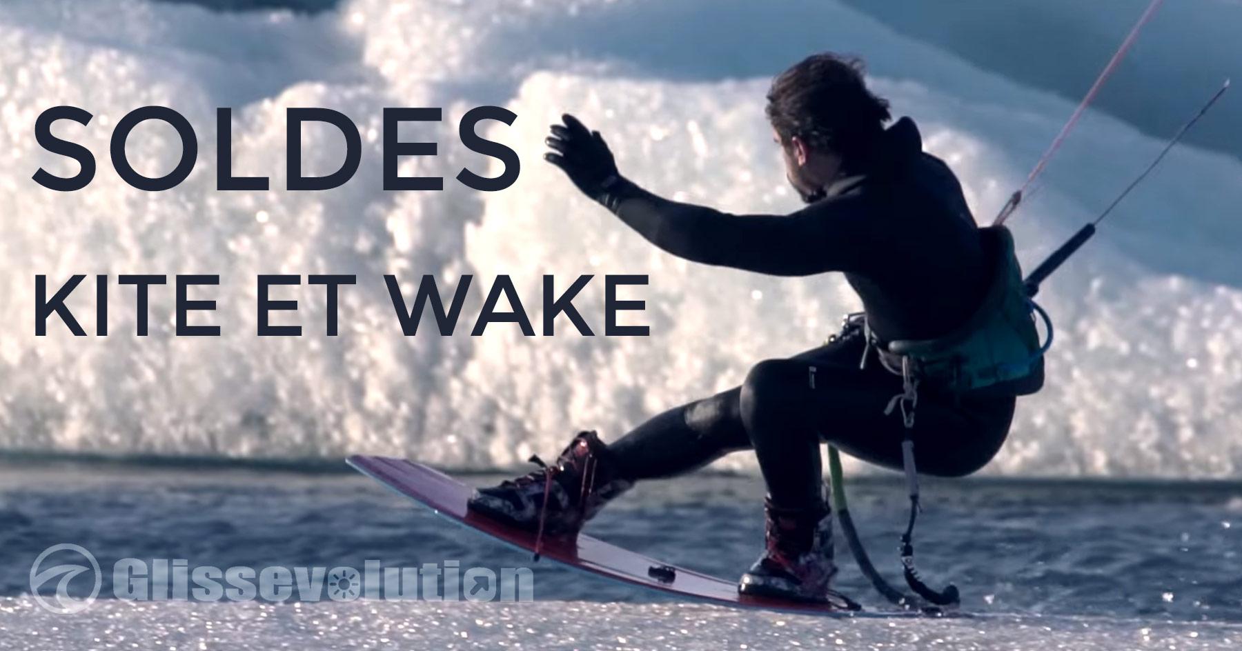 Soldes kite kitesurf et wake Hiver 2020 Grosses promos