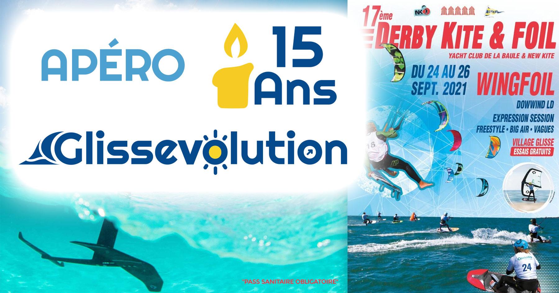 Apéro des 15 ans de GlissEvolution X Derby Kite & Foil