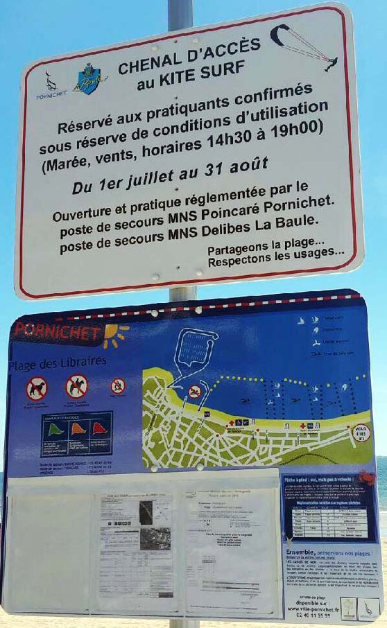Réglementation 2020 du Chenal Kite La Baule Pornichet