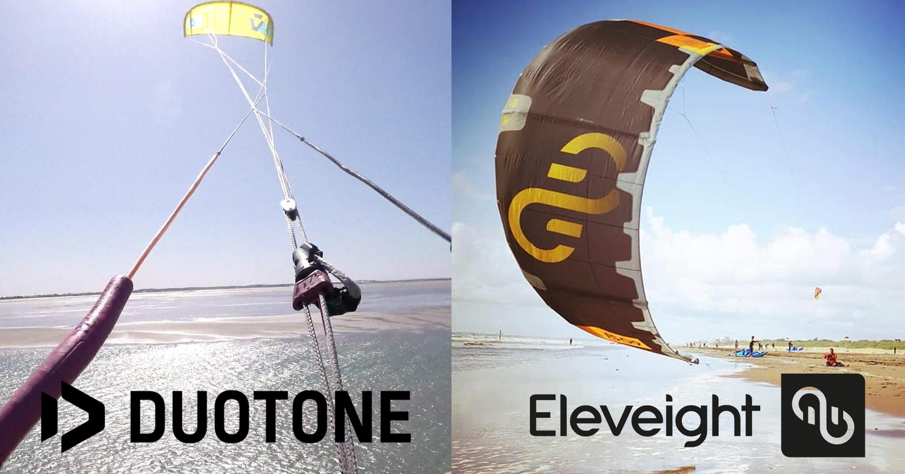 test matériel 2020 Duotone et Eleveight