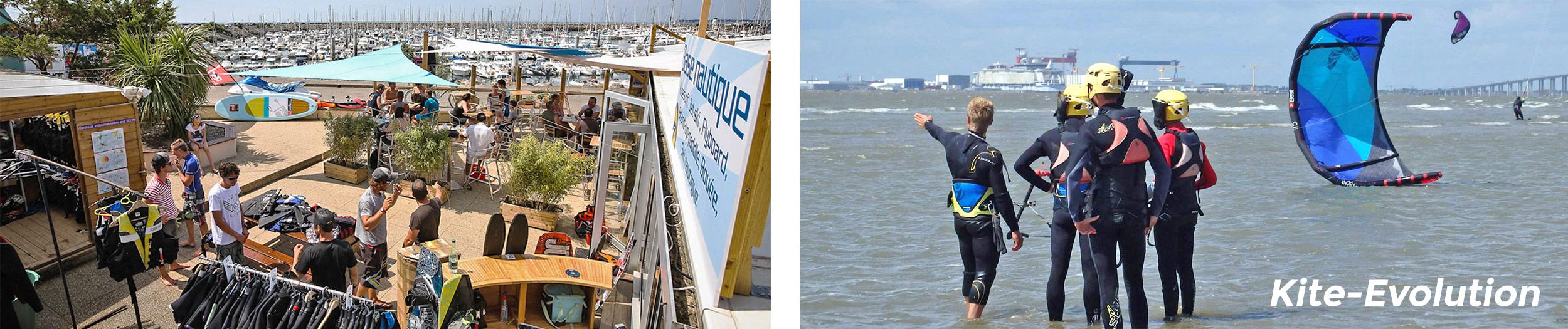 2012 base nautique Kite-Evolution cours kitesurf wake
