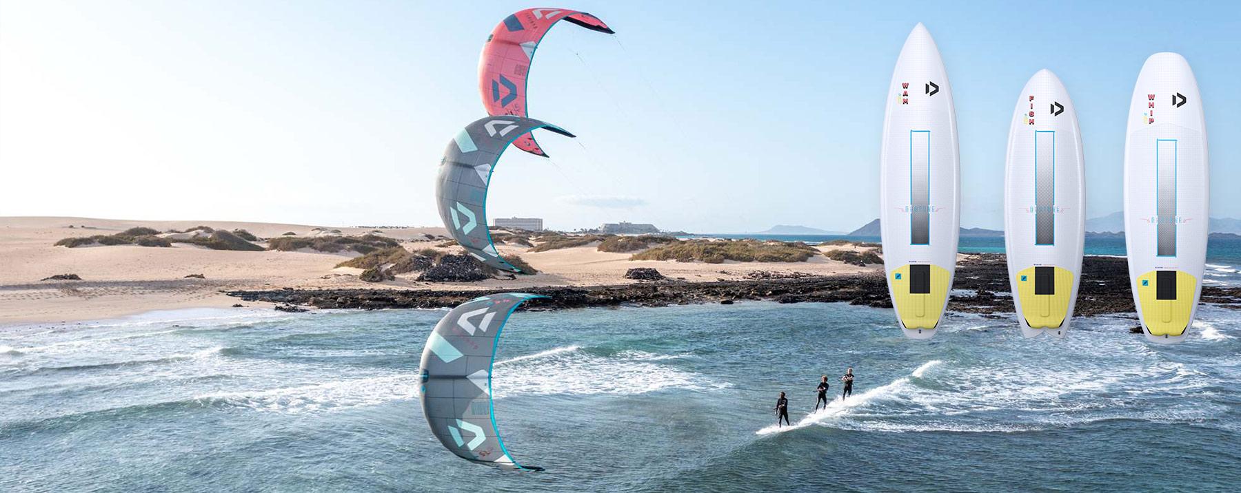 Présentation de la NEO SLS et des Surfs Wam, Fish et Whip D/LAB Duotone 2022