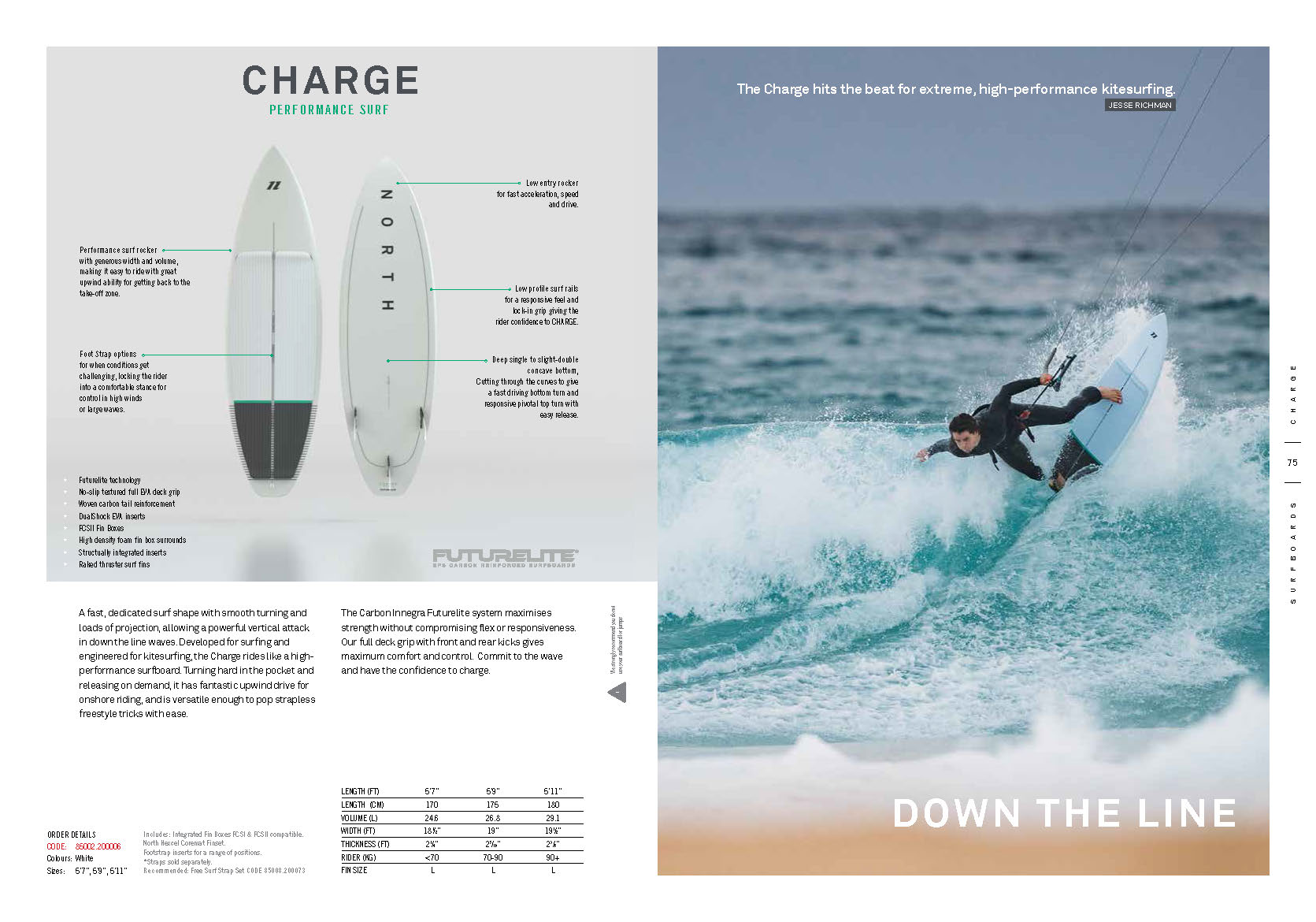 surfkite NORTH 2020 Charge