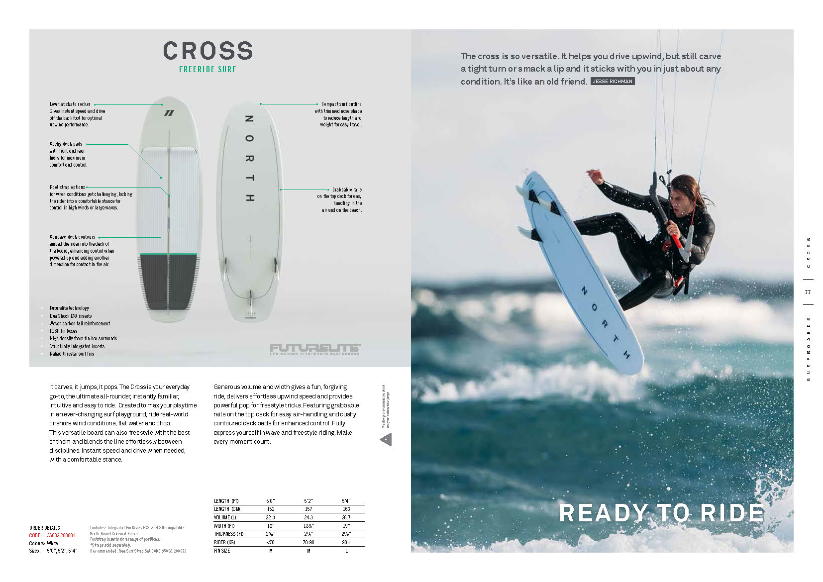 surfkite NORTH 2020 cross