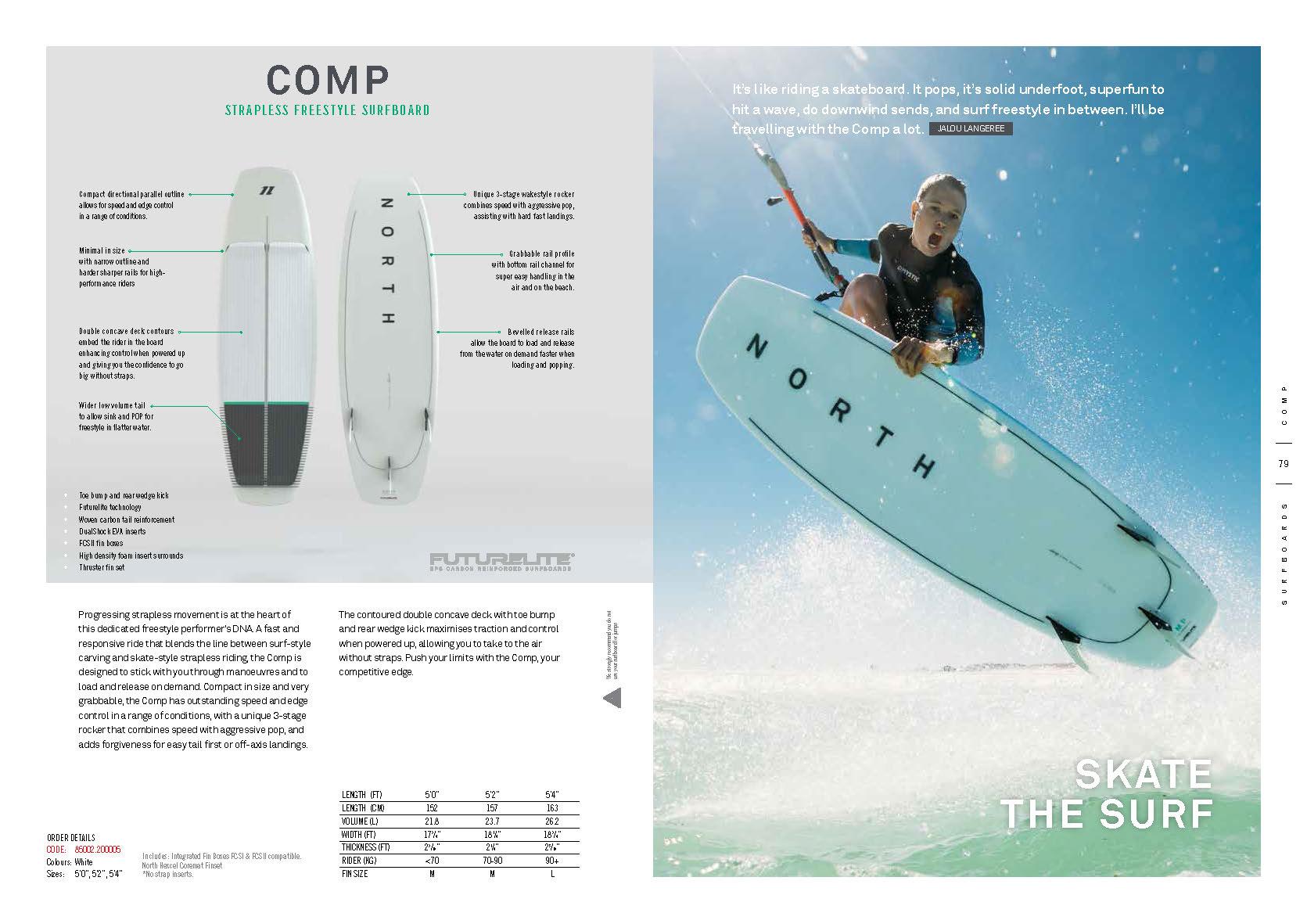surfkite NORTH 2020 COMP