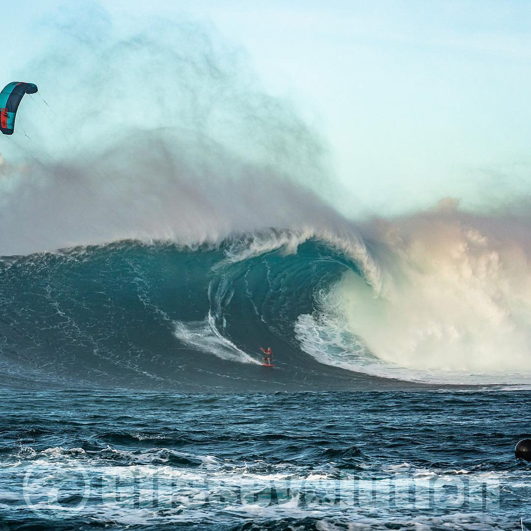 kitesurf jaws duotone hawai