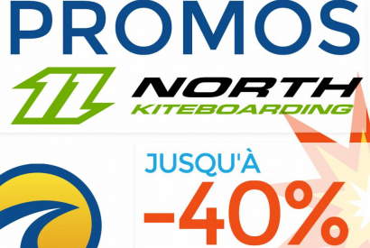 North Kiteboarding 2018 en promotion
