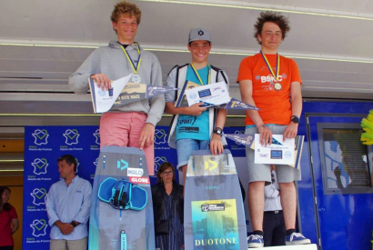 Hugo devient Champion du Monde Junior de Speed Crossing