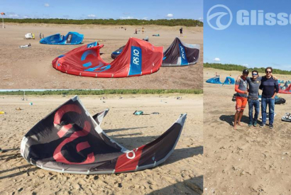 Tests Eleveight kites 2020