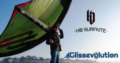 Test : test de l'aile de wing surf HB Flair: